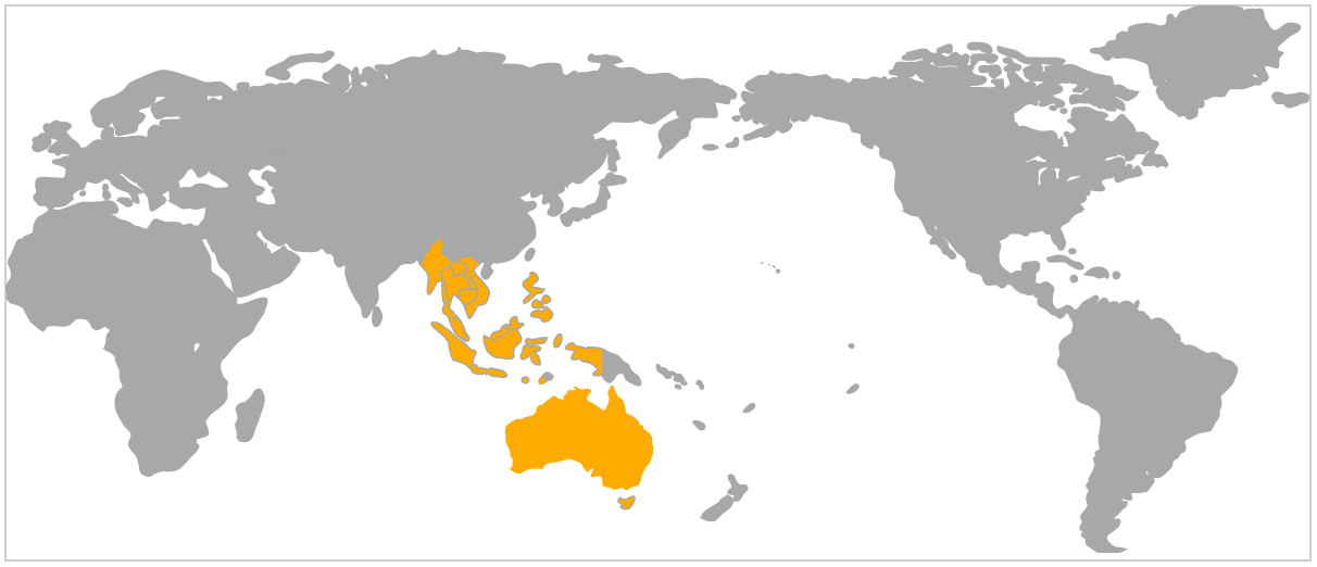 ASEAN-Aus Trade map from DFAT